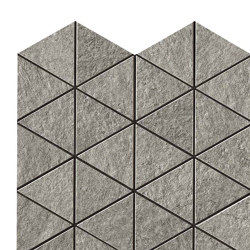 Klif Grey Triangles | Ceramic mosaics | Atlas Concorde