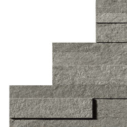 KLIF Grey Brick 3D | Ceramic tiles | Atlas Concorde