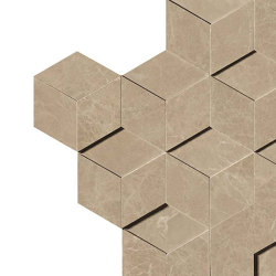 Marvel Elegant Sable Mosaico 3D | Ceramic tiles | Atlas Concorde