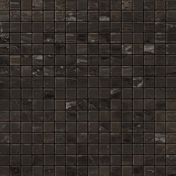 MARVEL Absolute Brown Mosaico Lappato | Ceramic mosaics | Atlas Concorde