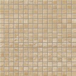 Marvel Gold Onyx Mosaico Lappato | Ceramic mosaics | Atlas Concorde