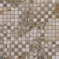 MARVEL Agata Azul Mosaico Lappato | Mosaicos de cerámica | Atlas Concorde
