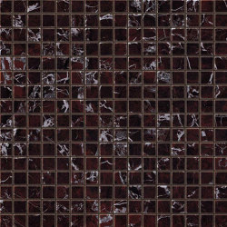 Marvel Red Luxury Mosaico Lappato | Ceramic mosaics | Atlas Concorde