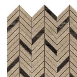 MARVEL Elegant Sable Mosaico Twill Lappato | Mosaicos de cerámica | Atlas Concorde