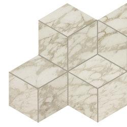 MARVEL Royal Calacatta Mosaico Esagono Lappato | Sols en céramique | Atlas Concorde