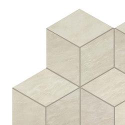 MARVEL Imperial White Mosaico Esagono Lappato | Mosaïques céramique | Atlas Concorde