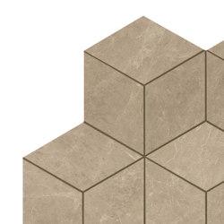 MARVEL Elegant Sable Mosaico Esagono Lappato | Ceramic mosaics | Atlas Concorde