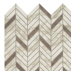 MARVEL Royal Calacatta Mosaico Twill Lappato | Mosaicos de cerámica | Atlas Concorde