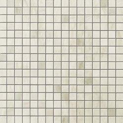 MARVEL Imperial White Mosaico Q Matt | Ceramic mosaics | Atlas Concorde