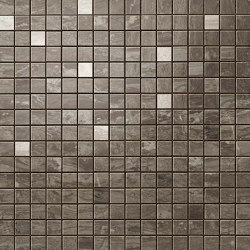 Marvel Absolute Brown Mosaico Q | Ceramic tiles | Atlas Concorde