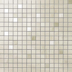 Marvel Imperial White Mosaico Q | Ceramic tiles | Atlas Concorde