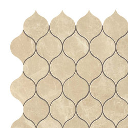 MARVEL Elegant Sable Drop Mosaico | Ceramic mosaics | Atlas Concorde