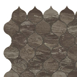 Marvel Absolute Brown Drop Mosaic | Ceramic mosaics | Atlas Concorde
