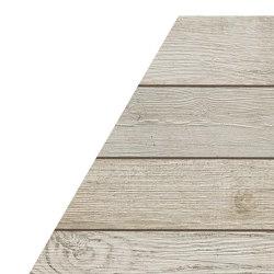 NASH White Wood Chevron | Baldosas de cerámica | Atlas Concorde