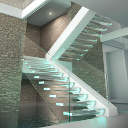 Crystal   Staircase systems   Siller Treppen