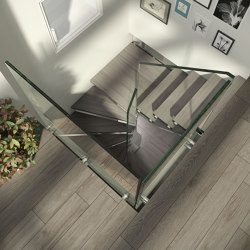 Mistral Spiral Glass | Sistemas de escalera | Siller Treppen