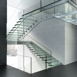 Montana Glass   Staircase systems   Siller Treppen