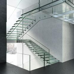 Montana Glass | Sistemas de escalera | Siller Treppen