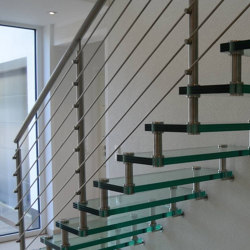 Sevilla Glass Straight | Staircase systems | Siller Treppen
