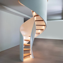 Tornado Spiral LED | Staircase systems | Siller Treppen