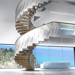 Helical Wave   Staircase systems   Siller Treppen