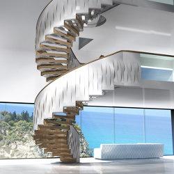 Helical Wave | Sistemas de escalera | Siller Treppen