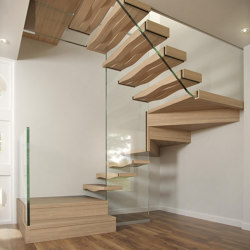 Wave Block | Staircase systems | Siller Treppen