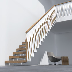 Wave Rail   Staircase systems   Siller Treppen