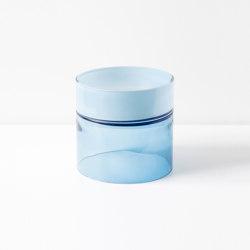 Pair Vessel 9 Blue Palette | Objetos | SkLO