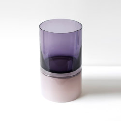 Pair Vessel 9 Purple Palette   Floreros   SkLO