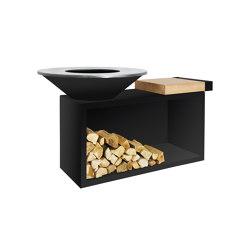 OFYR Island Black 100 | Fireplace accessories | OFYR