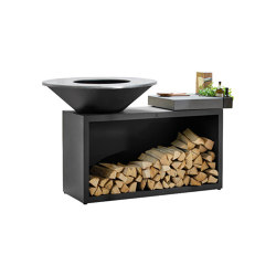 OFYR Island Black 100 Ceramic Light | Fireplace accessories | OFYR