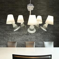 FlapFlap chandelier | Lámparas de suspensión | next