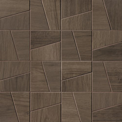 Nest Brown Slash Mosaico | Mosaïques céramique | Fap Ceramiche