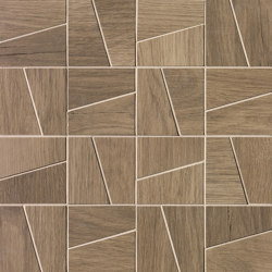 Nest Oak Slash Mosaico | Ceramic mosaics | Fap Ceramiche