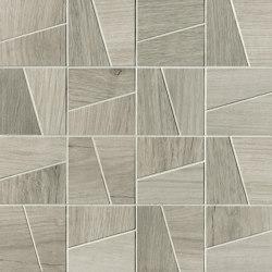 Nest Silver Slash Mosaico | Mosaicos de cerámica | Fap Ceramiche