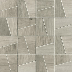 Nest Silver Slash Mosaico | Ceramic mosaics | Fap Ceramiche