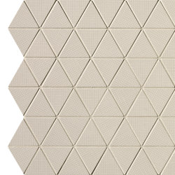 Pat Beige Triangolo Mosaico | Mosaicos de cerámica | Fap Ceramiche
