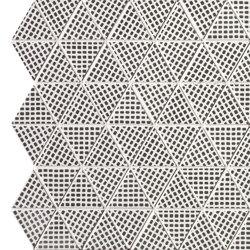 Pat Deco Black Triangolo Mosaico | Mosaicos de cerámica | Fap Ceramiche