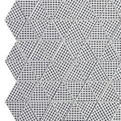 Pat Deco Blue Triangolo Mosaico | Mosaicos de cerámica | Fap Ceramiche