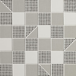Pat Grey Slash Mosaico | Mosaicos de cerámica | Fap Ceramiche