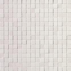Pat White Mosaico | Ceramic mosaics | Fap Ceramiche