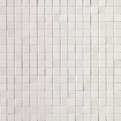 Pat White Mosaico | Mosaici ceramica | Fap Ceramiche