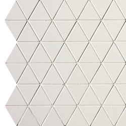 Pat White Triangolo Mosaico | Mosaici ceramica | Fap Ceramiche