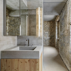 Concrete in Bath | Design Examples | Wash basins | Dade Design AG concrete works Beton