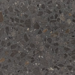 dade Terrazzo Guber split black | Exposed concrete | Dade Design AG concrete works Beton
