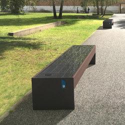 blocq | Solar bench | Benches | mmcité