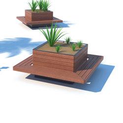 květa | Planters with seating surface | Accessories | mmcité