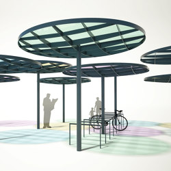 pin system | Shelter | Bus stop shelters | mmcité