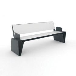 radium | Parkbank mit Armlehnen | Sitzbänke | mmcité